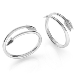pierścionek STRZAŁA- srebro