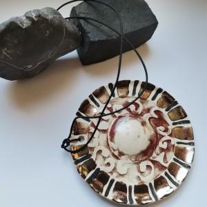 Naszyjnik ceramiczny duży