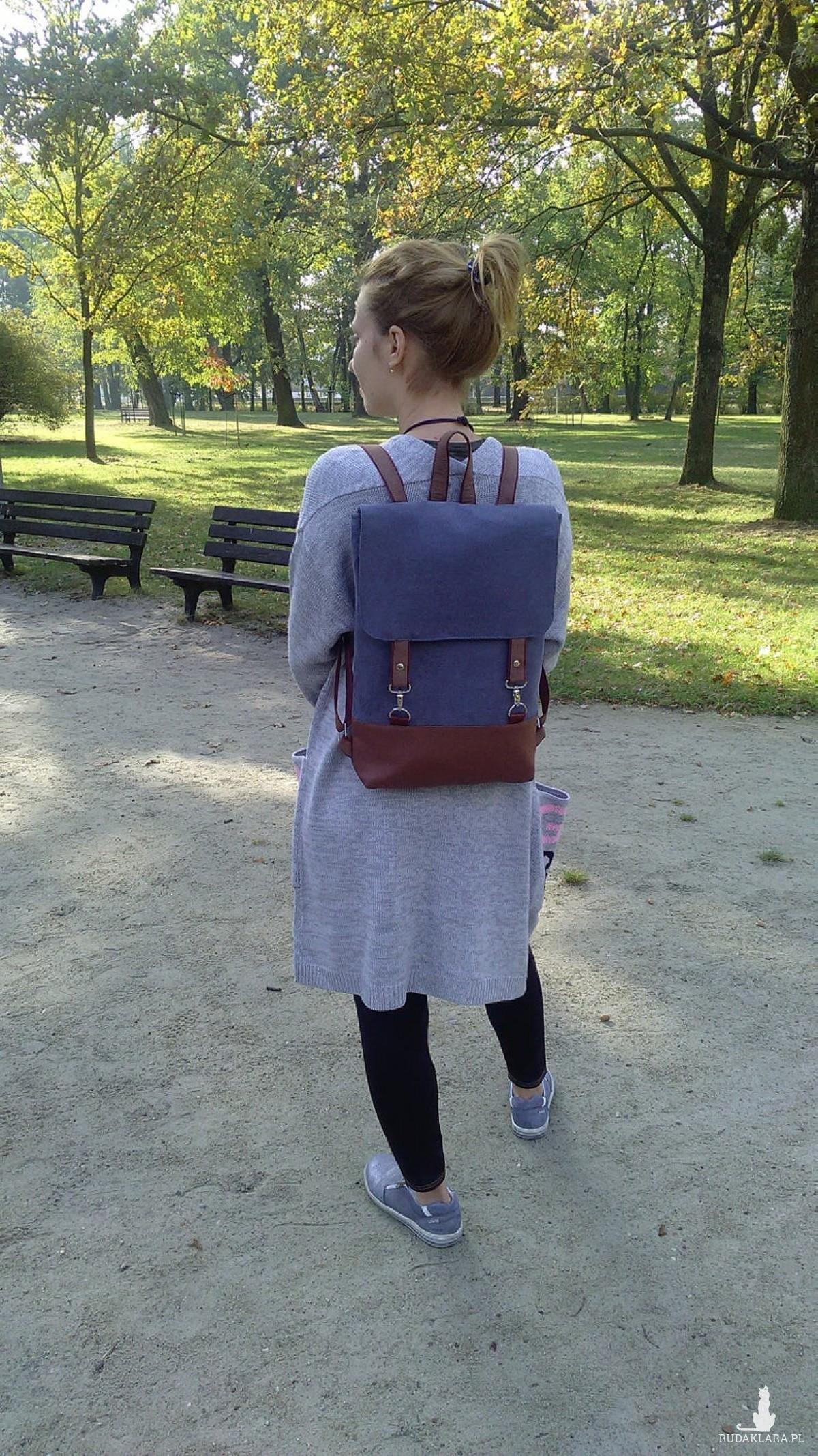 Wegański plecak.
