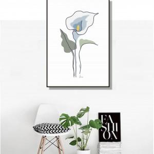 Kalia, grafika autorska, minimalistyczna