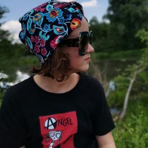 Turban kolorowy letni dzieciecy