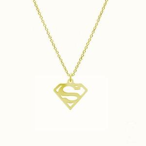 SUPERWOMAN-srebro złocone