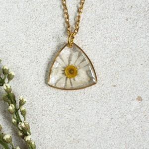 Wisiorek z kwiatem rumianku 19 mm