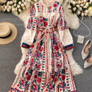 sukienka rozmiar m w stylu fridy kahlo
