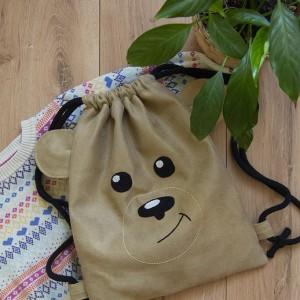 Plecak miś dla przedszkolaka