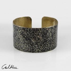 Lawa - mosiężna bransoleta 210605-02