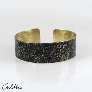 Lawa - mosiężna bransoleta 210605-05