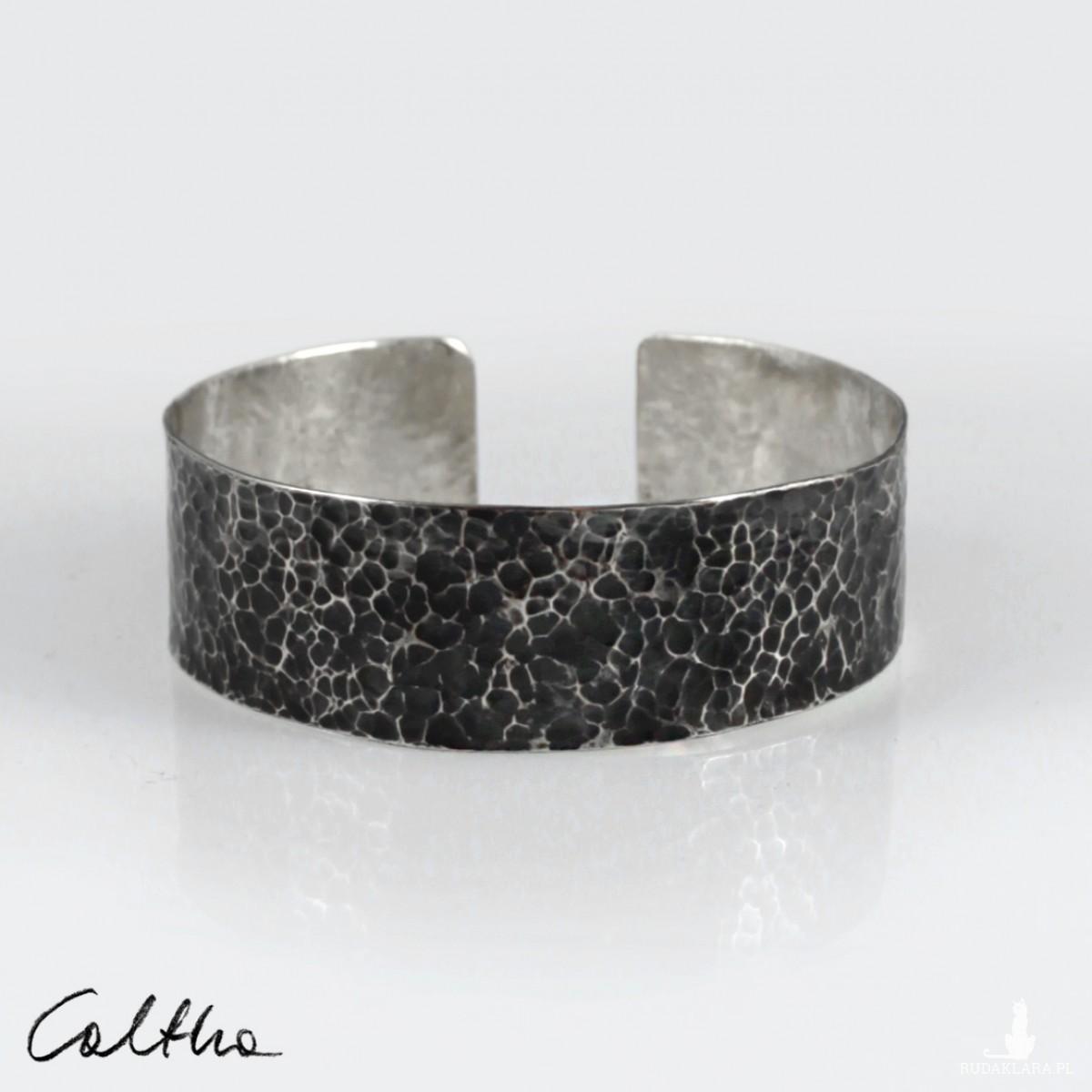 Lawa - metalowa bransoletka szeroka 210605-06