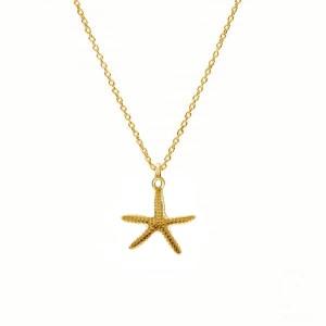 STARFISH- srebro złocone