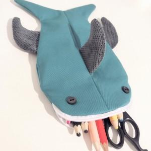 Piórnik ryba rekin morski kolor