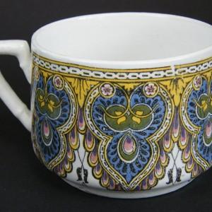 Ceramiczna filiżanka orientalne wzory