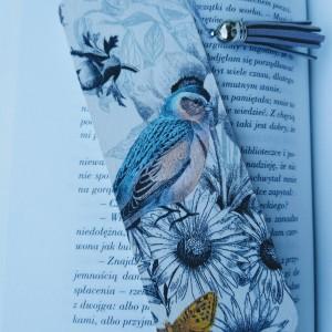 Zakładka do książki Pastelowy ptaszek