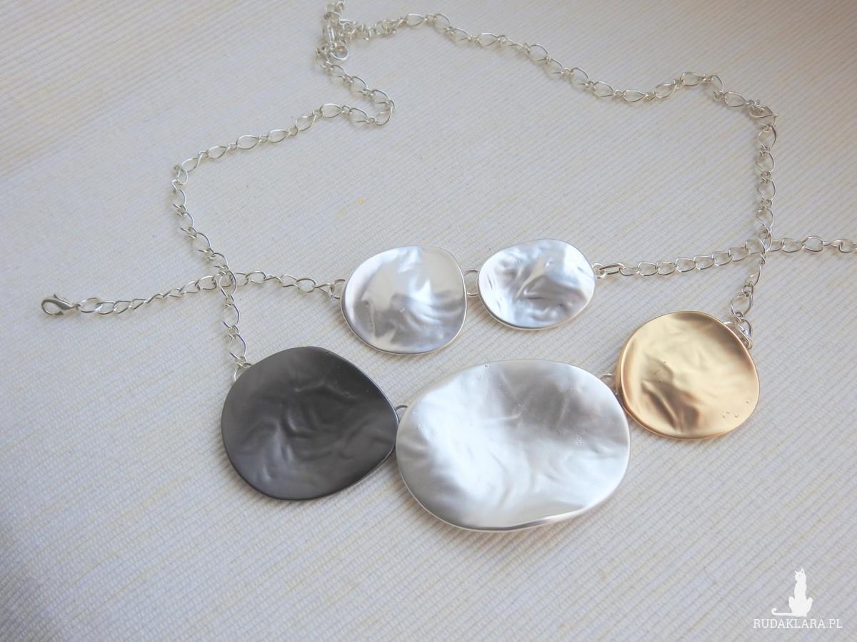 Bransoletka do Letniego naszyjnika 3 kolory: grafit, srebro i złoto