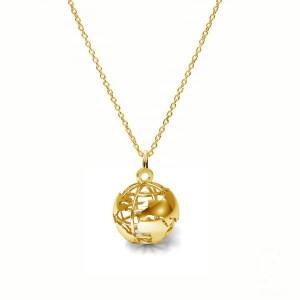 GLOBUS-srebro złocone