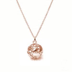 GLOBUS-różowe złoto