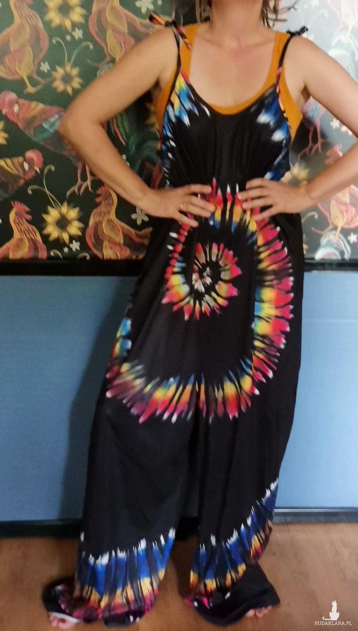 kombinezon kolorowy M/l pajacyk
