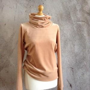 Welurowa bluza S/M
