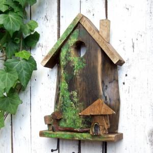 Wieszaczek na klucze w kształcie domku dla ptaków