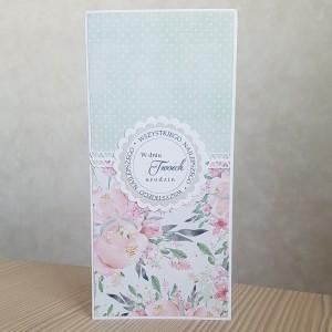 Kartka urodzinowa kwiaty
