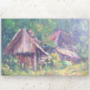rysunek z chmurką, chmurka obrazek, bajkowa akwarela, dekoracja do pokoju dziewczynki, grafika do dziecięcego pokoju