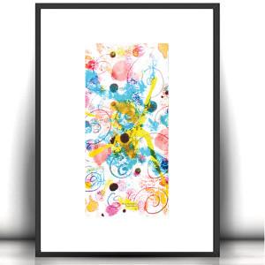 kot rysunek, obrazek z kotem, kot akwarela, kotek grafika na ścianę