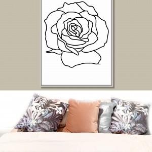 Róża, grafika autorska