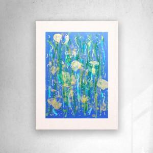 abstrakcyjna grafika na ścianę, nowoczesny rysunek, abstrakcja obrazek, dekoracja do loftu, minimalizm obraz