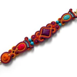 bransoletka sutasz w kolorach Indii