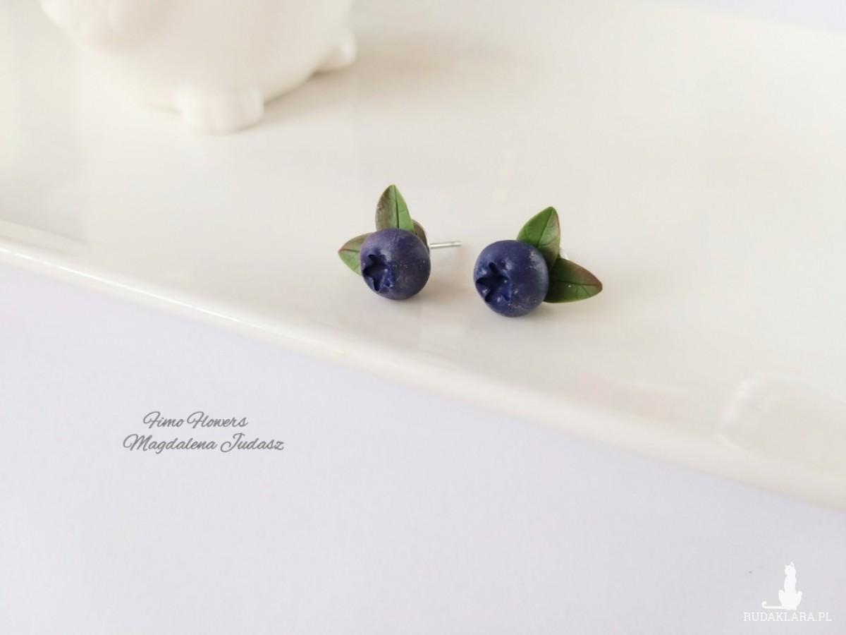 Kolczyki z jagodami
