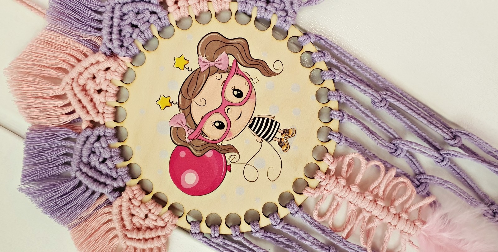 Łapacz snów - dziewczynka z balonem