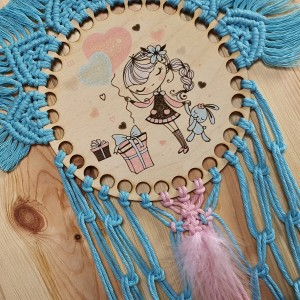 Łapacz snów - dziewczynka z balonami