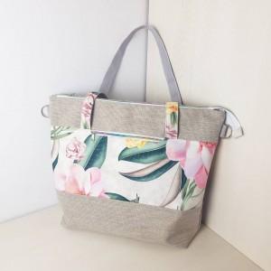 Duża torba szoperka lub podróżna Magnolia