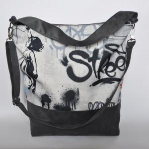 TORBA - WOREK XXL - grafitti