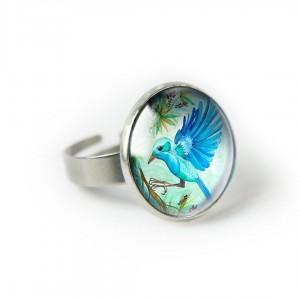 Jungle bird pierścionek