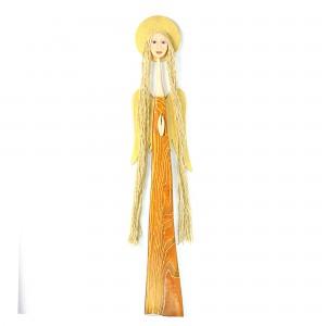 Anioł z drewna sosnowego
