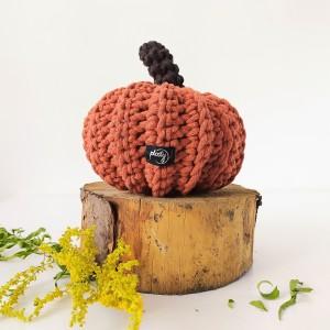 Dynia Halloween ruda duża