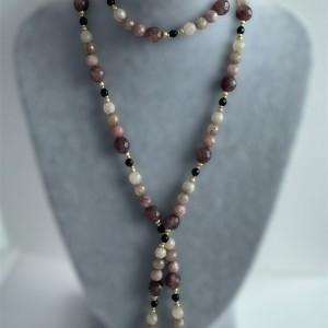 Komplet biżuterii z jadeitem