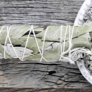 Kadzidło Biała Szałwia i Eukaliptus pęczek