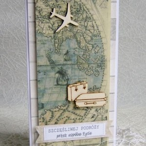Kartka ślubna Szczęśliwej Podróży