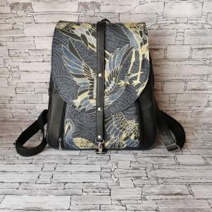 Plecak - złote czaple
