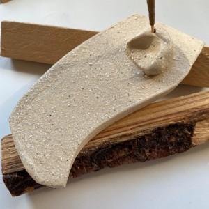 PALOLOPULI podstawka na kadzidełko i palosanto