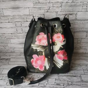 Torebka bucket bag  koliber