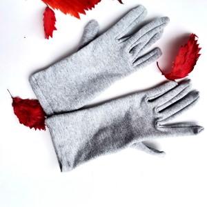 Rękawiczki dzininowe szare