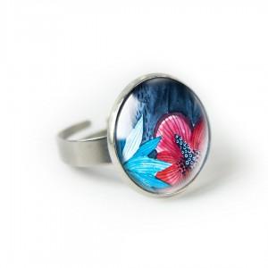 Malwa pierścionek
