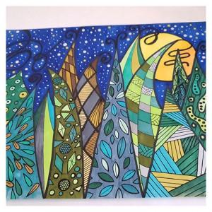 Zentangle LAS rysunek obraz obrazek