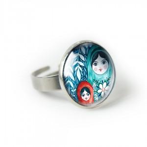 Matrioszki pierścionek