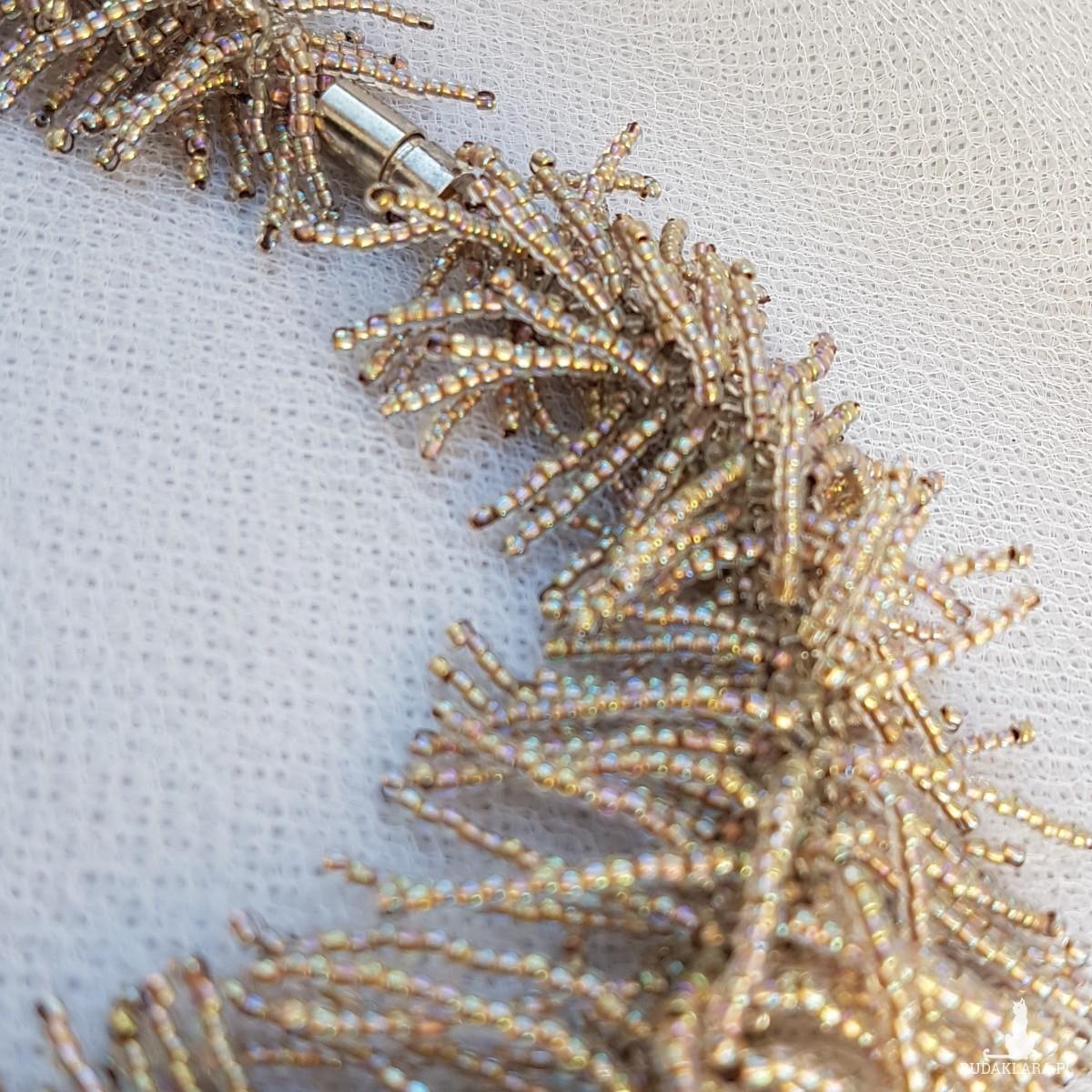 Naszyjnik Złoty Deszcz
