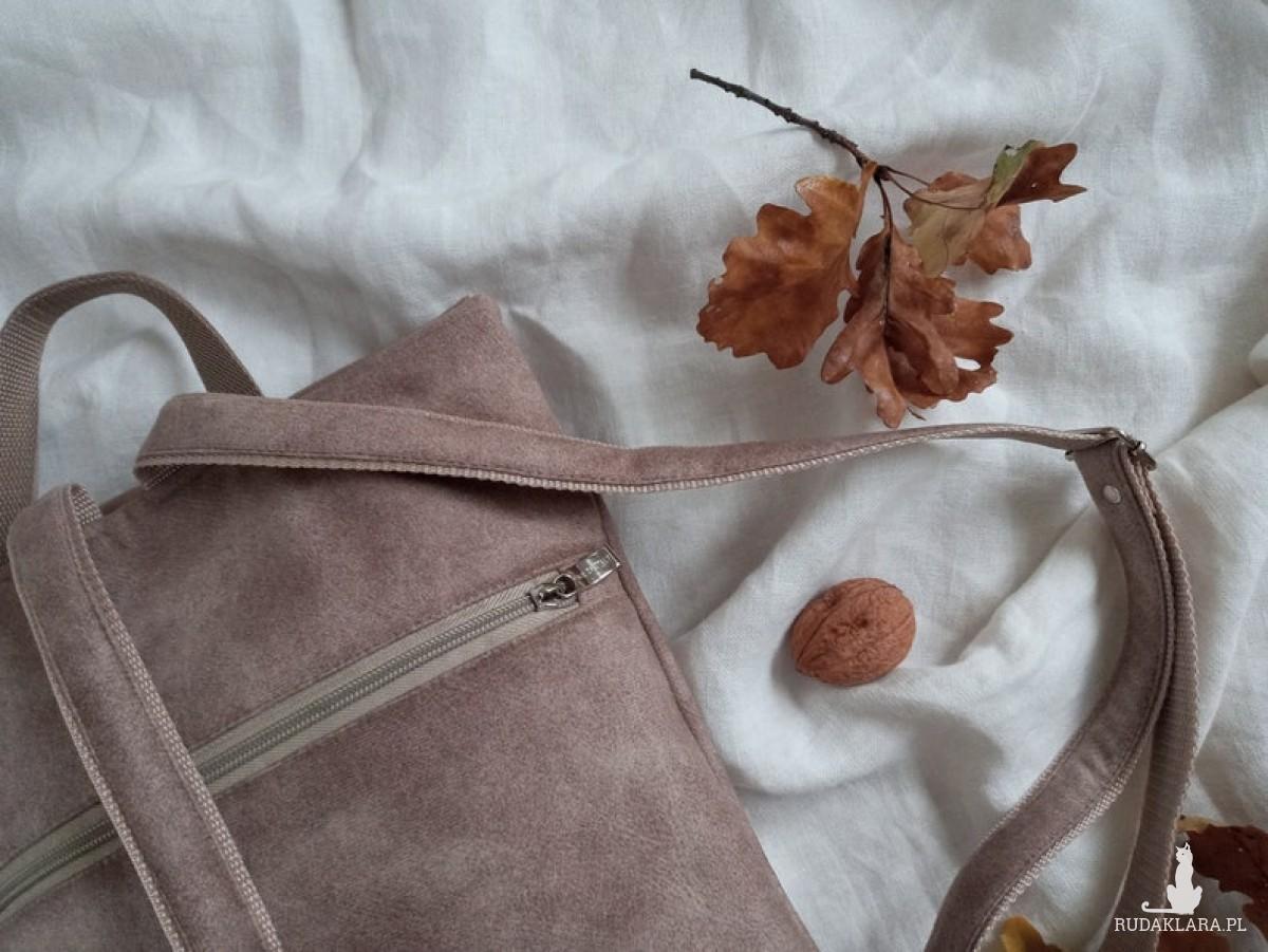 Wegański plecak. VELVET
