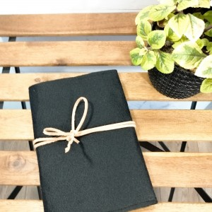 Okładka na książkę,notes A5,czarna.