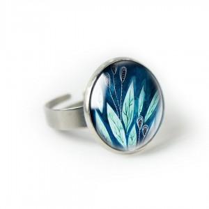 Morskie pierścionek